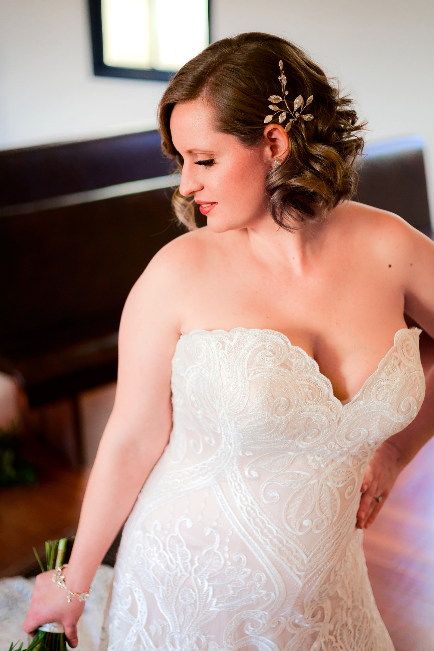 Classic bridal hair and makeup - La Muse Beauty Salon